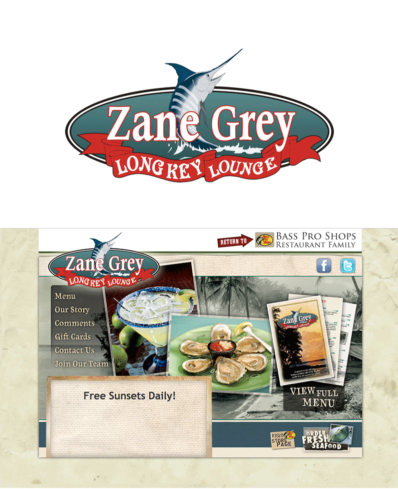 Zane Grey Long Key Lounge